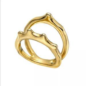 Uno de 50 Wakame Ring Gold Sz 7 NWT